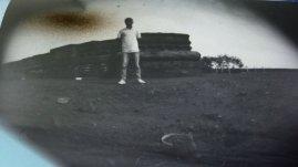 """Bobby Pinhole Bekasi, """"Standing Man"""" Bekasi, Indonesia (member of Pinhole Bekasi group)"""