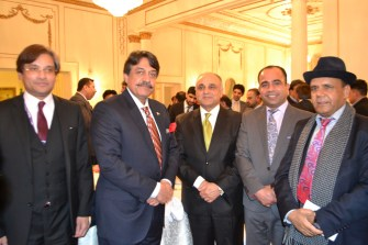 First interaction of Pakistan Minister for Overseas with British Pakistani Diaspora and Journalists 2017