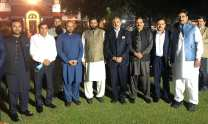 Chief Justice LHC Qasim Khan held a reception in honour of Lord Nazir Ahmed