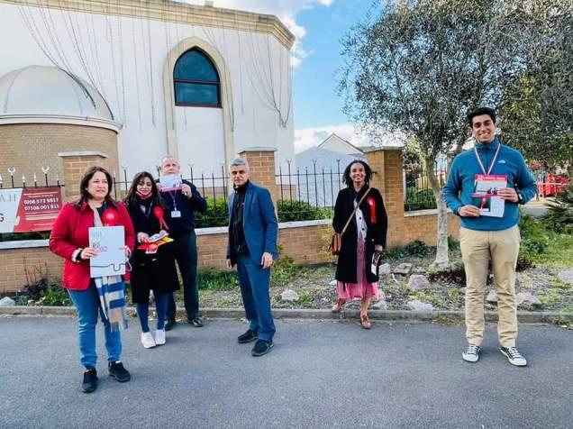 Labour Party campaign with Sadiq Khan (4)