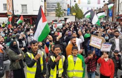 High Wycomb's solidarity with Palestinians (4)