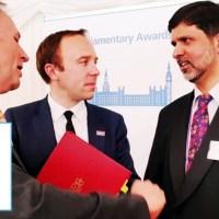 پاکستانی نژاد ڈاکٹرعبدالحفیظ کیلئے کورونا وبا کے دوران اہم خدمات پر ایم بی ای کا اعزاز