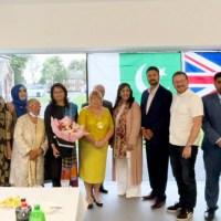 آشٹن میں خوش آمدید گروپ کی عید ملن تقریب، نائلہ شریف کو کونسلر بننے پر مبارک باد دی گئی