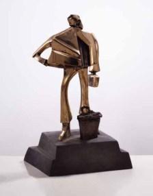 Der Reisende 40x25x25 cm 2001 bronze