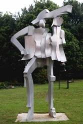 Klang Figur 350x150x120 cm 1997 alluminium