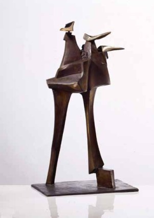 Moving 90x60x50 cm 1994 bronze
