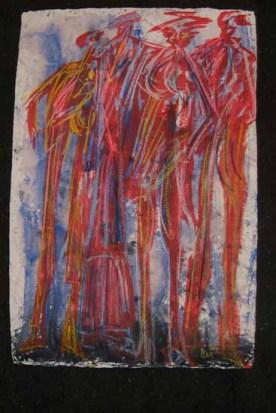 Rotlichtmileau 50x70 cm