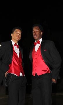 Seniors Jordan Brown and Timothy Whittaker. Photo Credit / Jordan Brown