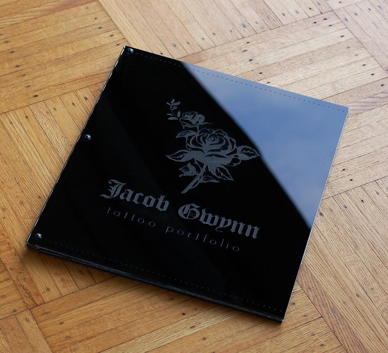 custom portfolio book design