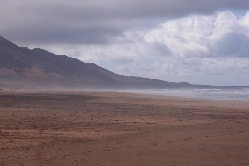 Jedna strana pláže
