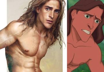 Pozri si, ako by vyzerali postavičky z Disney v reálnom svete. Z princov sa stali sexi muži!