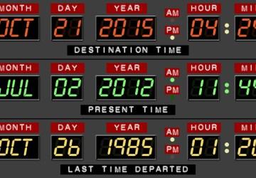 Pre fanúšikov filmu Návrat do budúcnosti je dnešok magický. Dnes je budúcnosť!