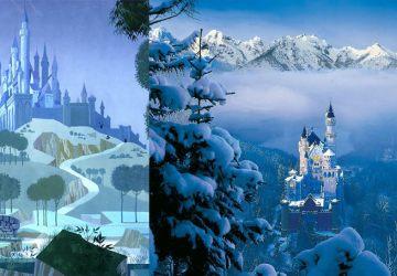 Reálne miesta, ktorými sa inšpirovali tvorcovia Disney rozprávok!