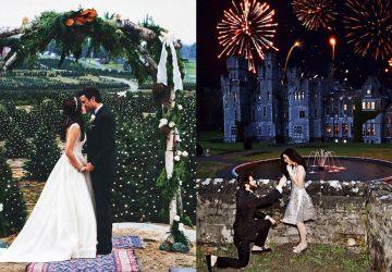 Krásne a romantické prežitie svadobného dňa medzi vianočnými stromčekmi
