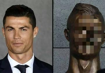 Cristiano Ronaldo sa dočkal vlastnej sochy. My sme sa dočkali reakcií internetových vtipálkov!