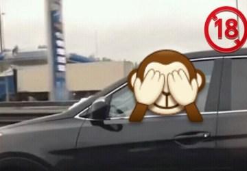 Na diaľnici obehoval auto. TO, čo sa mu v ňom podarilo zachytiť, ťa rozpáli!