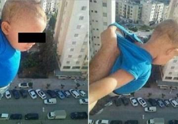 TOTÁLNE ŠIALENSTVO: 1000 lajkov alebo ho pustím z 15-tého poschodia! Šialený muž, ktorý riskoval život dieťaťa, skončil nečakane
