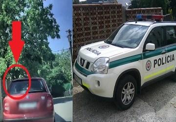 Muži zákona na Slovensku ostali v šoku! Vodič okrem toho, že bol pod vplyvom, tak mal na kolenách … !