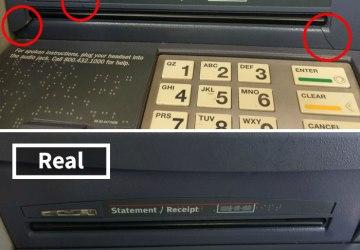 Keď si pôjdete do bankomatu vytiahnuť peniaze, dávajte si pozor na tieto miesta. Toto sú časté triky podvodníkov