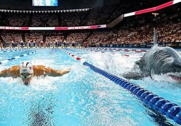 VIDEO: Famózny plavec Michael Phelps sa rozhodol zmerať sily s nebezpečným bielym žralokom