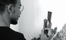 Muž strávil 10 mesiacov kreslením New Yorku. Jeho jedinečná kresba vám svojou krásou vyrazí dych!