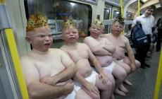 Najvtipnejšie fotografie, ktoré vznikli v metre