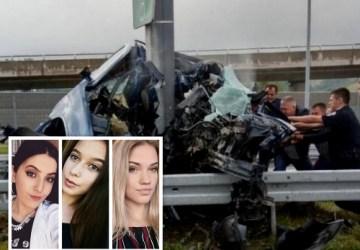 OBROVSKÁ TRAGÉDIA: Tínedžerky sa rútili diaľnicou v plnej rýchlosti, boli na mieste mŕtve. Auto roztrieštené na kusy!