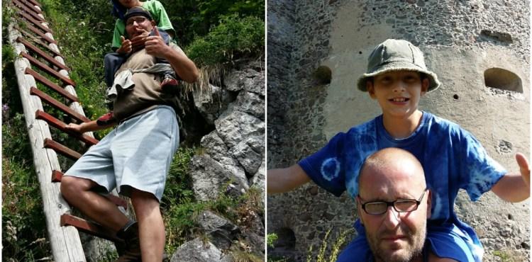 TOTO je pravá láska! Milujúci otec nosí svojho postihnutého syna na chrbte a ukazuje mu najväčšie krásy Slovenska!