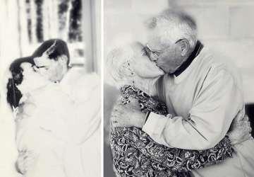 12+ fotiek, ktoré dokazujú, že čas v láske nehrá žiadnu rolu