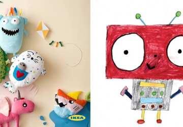 Toto sú tie najroztomilejšie hračky na svete! IKEA vyrobí ďalších 6 presne podľa kresieb detí z celého sveta