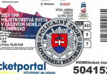 Máme falšovateľov lístkov na MS v hokeji, odkazujú policajti z NAKA. Zasahovali v Poprade aj Spišskej Novej Vsi