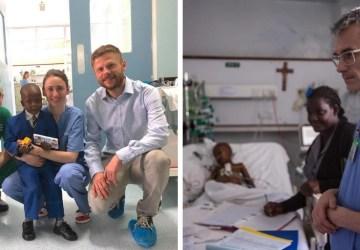 Česko-slovenský tím lekárov operuje deti v Nairobi, koordinátorom projektu je náš vojnový fotograf Ján Husár