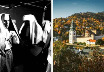 Banská Štiavnica opäť na výslní: Filmári tam nakrúcali Draculu, v komparze si zahrali aj domáci