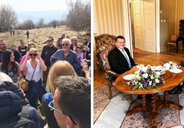Čaputová na Sitne, Šefčovič u Zemana. Nedeľa kontrastov: Ako vyzeral posledný víkend pred voľbami?