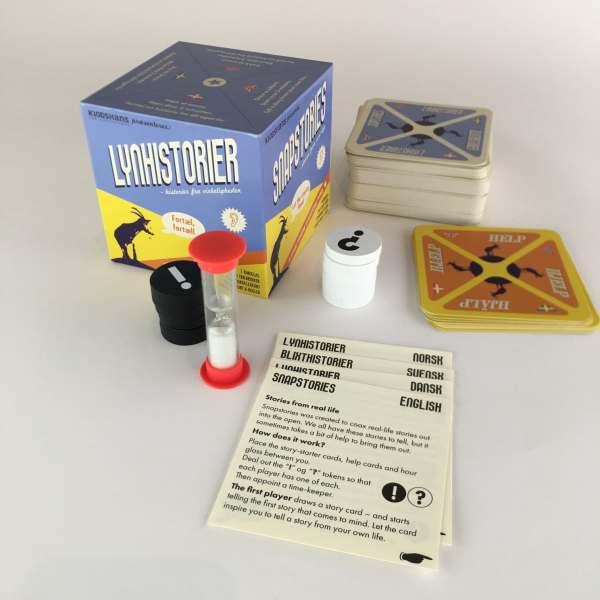 LynHistorier indhold