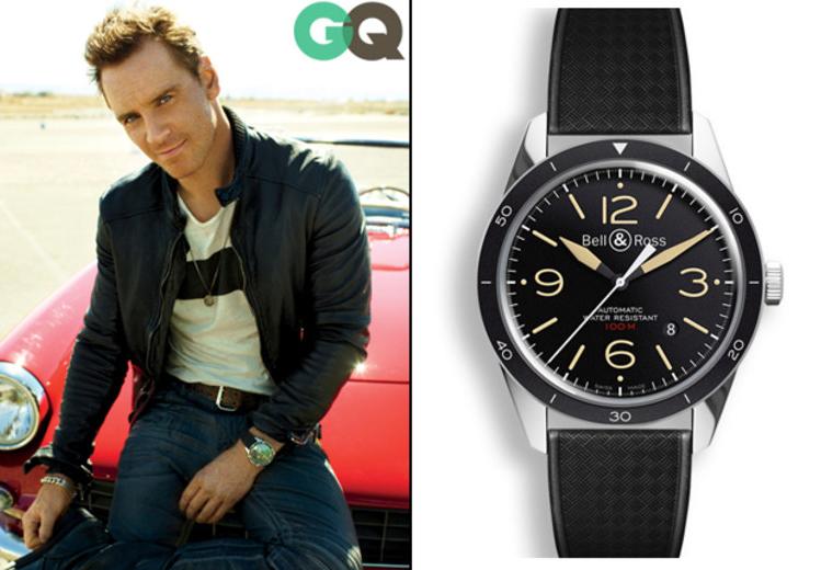 Relojes de los premios Michael Fassbender