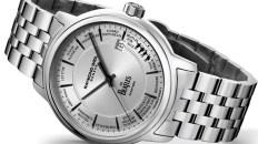 Reloj Raymond Weil plateado con detalles negros