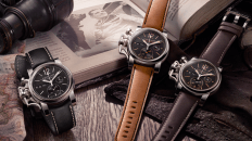 Relojes Graham con correas el color negro, café y camel