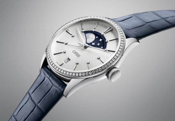 Oris Artelier Grande Lune es la pieza de Oris que engalana la unión de la marca con Hemsely + Hemsley.