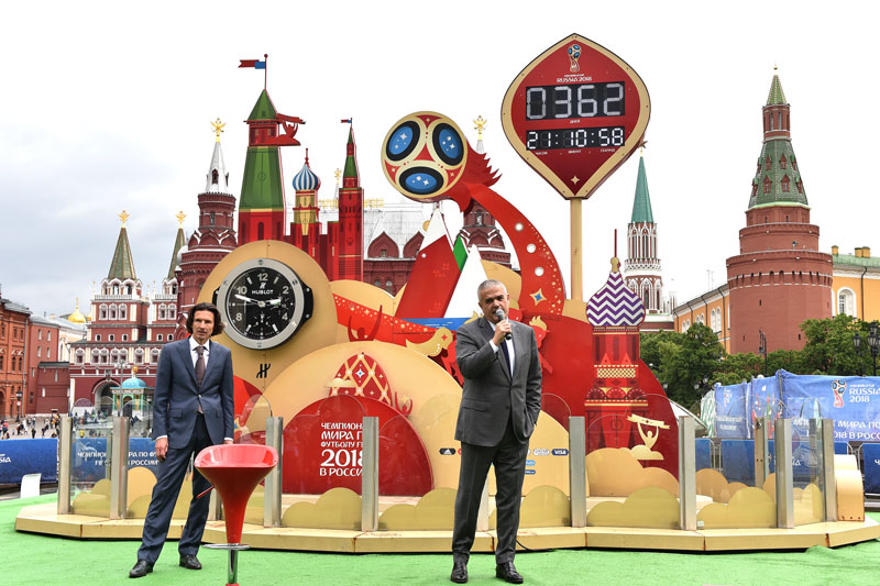 Hublot inaugura su nueva boutique en la Plaza roja de Moscú