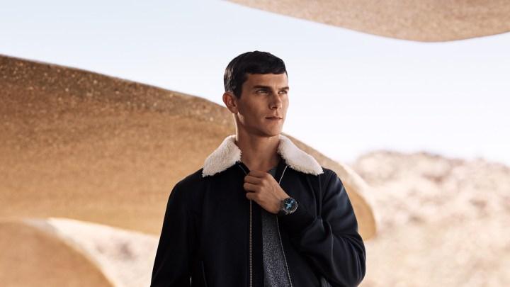 Smartwatch Tambour Horizon de Louis Vuitton.