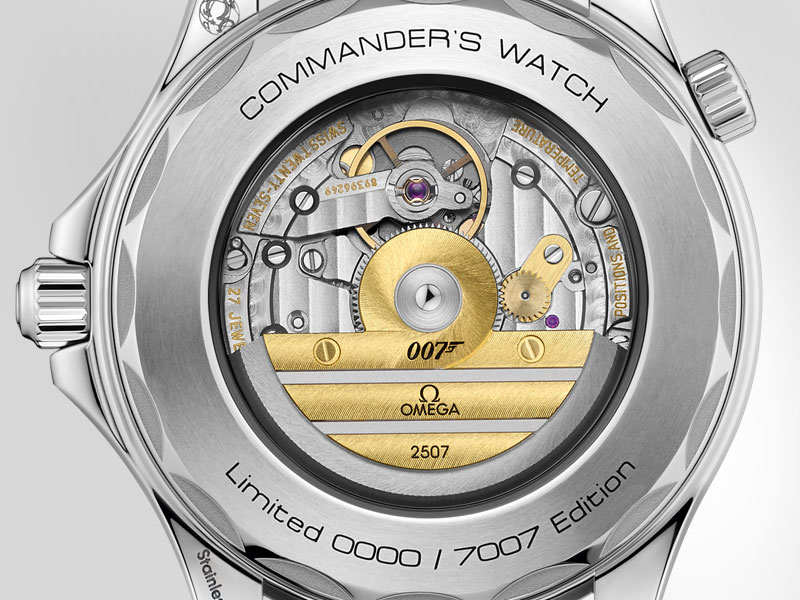 """SEAMASTER DIVER 300M """"COMMANDER'S WATCH"""" Edición Limitada. James Bond, el Agente 007"""