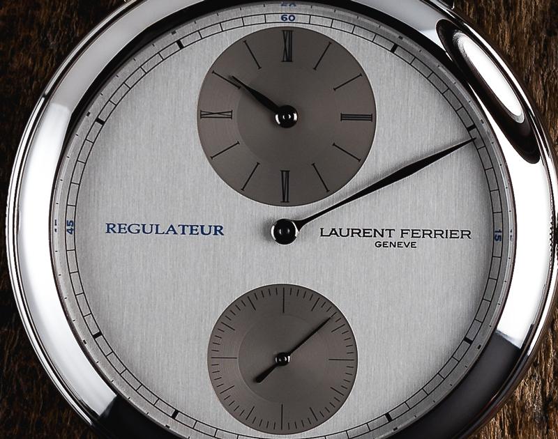 Laurent Ferrier Galet Micro-Rotor Ecole Regulateur
