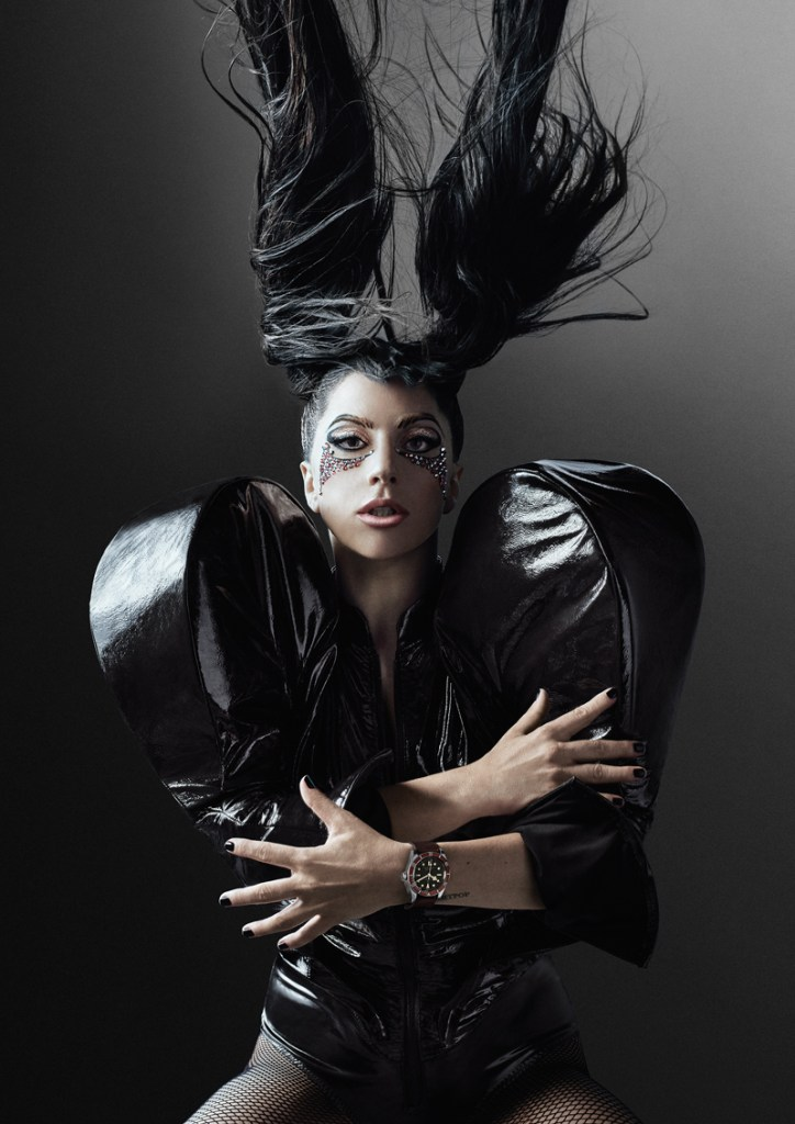 Lady Gaga embajadora de Tudor Black Bay Heritage
