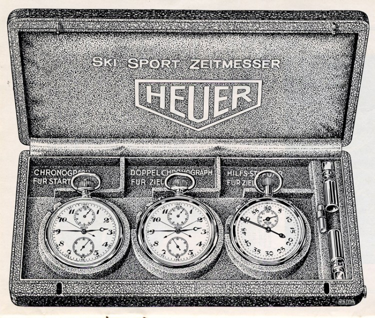 Heuer Globetrotter, TAG Heuer