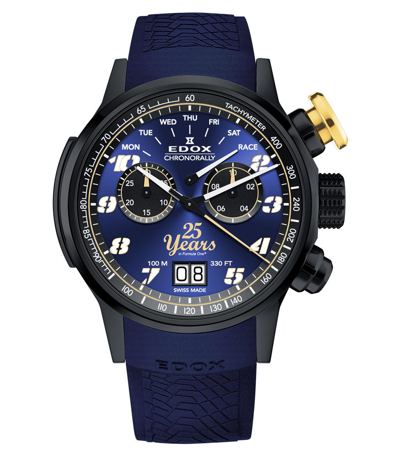 Edox Chronorally Sauber 25 years Limited edition