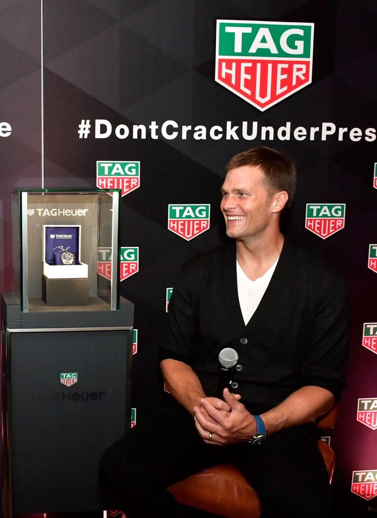 Tom Brady Heuer 01 Special Edition Watch