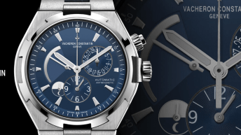 Vacheron Constantin OVERSEAS DUAL TIME BLUE
