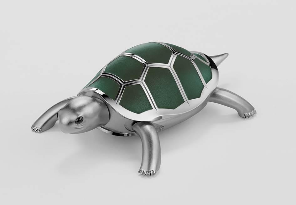 MB&F presenta a dos amigos mecanizados, a una tortuga y un pájaro: Kelys & Chirp