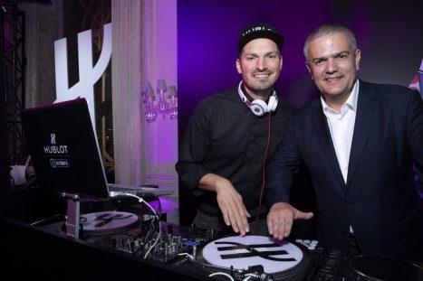 DJ Teddy-O and Ricardo Guadalupe